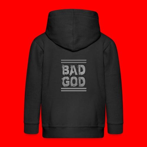 BadGod - Kids' Premium Zip Hoodie