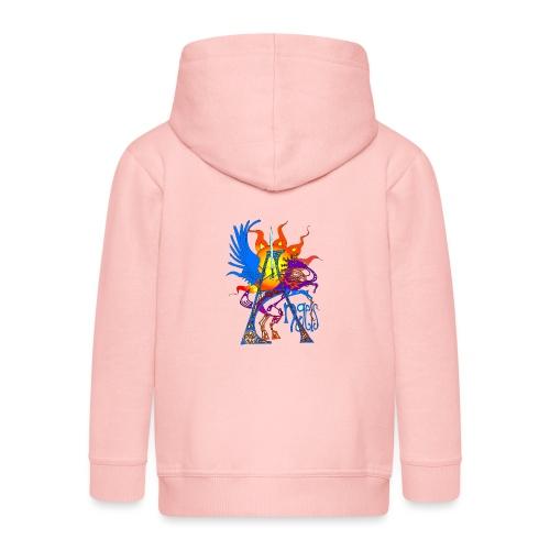Angel Messenger - Kids' Premium Zip Hoodie