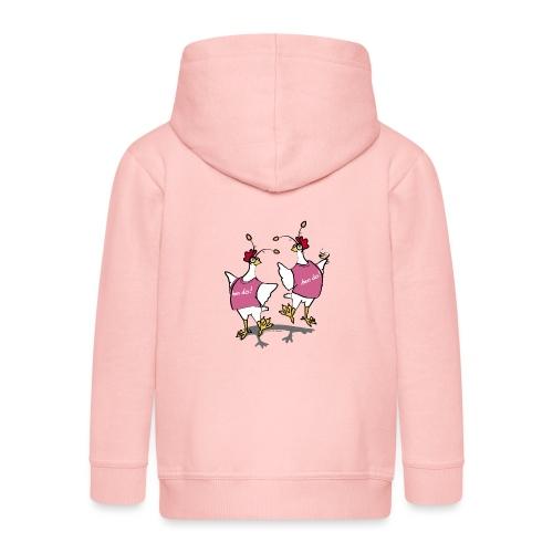 Hen Party (pink) - Kids' Premium Zip Hoodie