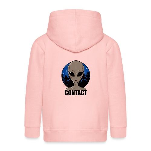 Contact Extraterrestre - Veste à capuche Premium Enfant