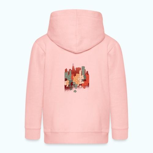 Puzzle fan - Kids' Premium Hooded Jacket