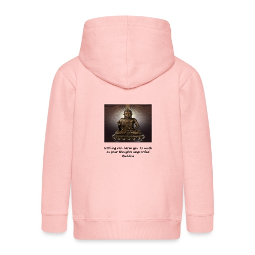 Thoughts Can Harm. - Kids' Premium Hooded Jacket