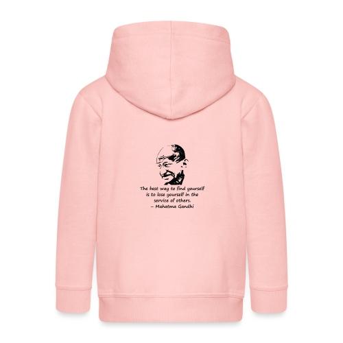 Find Yourself - Kids' Premium Hooded Jacket