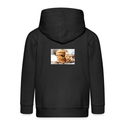 american cookie afdruk/print - Kinderen Premium jas met capuchon