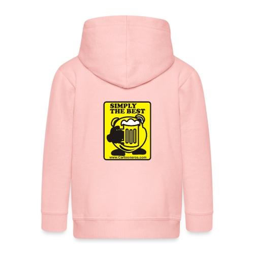 Simply the Best - Kids' Premium Zip Hoodie