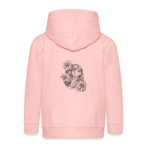 Dahlien Cavalier - Kinder Premium Kapuzenjacke