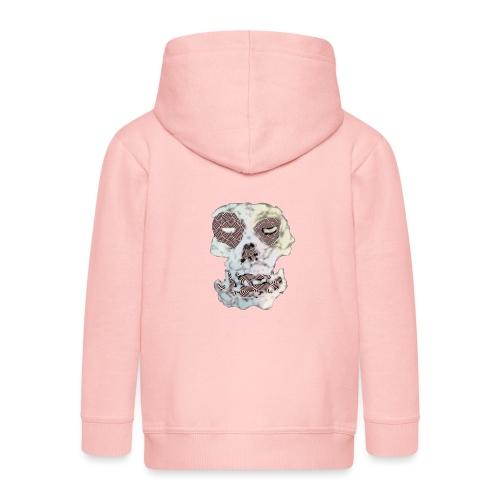 Weird Out Skull - Premium-Luvjacka barn