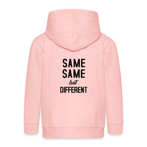 Same Same - Kinder Premium Kapuzenjacke