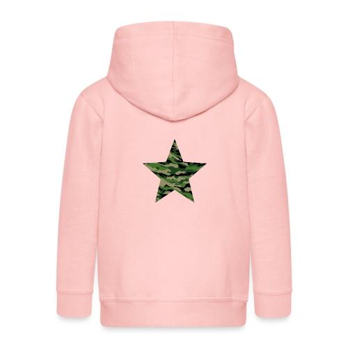 CamouflageStern - Kinder Premium Kapuzenjacke