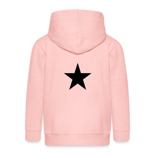 Ardrossan St.Pauli Black Star - Kids' Premium Zip Hoodie