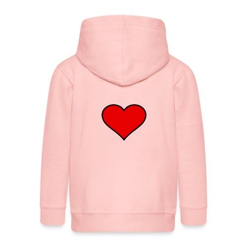 big heart clipart 3 - Premium-Luvjacka barn