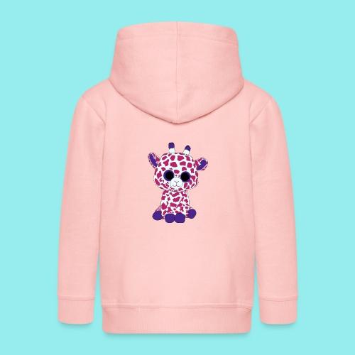 girafe - Veste à capuche Premium Enfant
