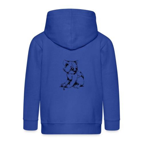 Chaton - Veste à capuche Premium Enfant