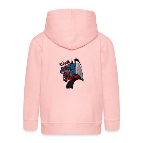 The flying skane man notext - Kinderen Premium jas met capuchon