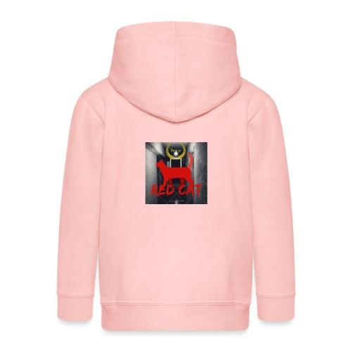 Red Cat (Deluxe) - Kids' Premium Hooded Jacket