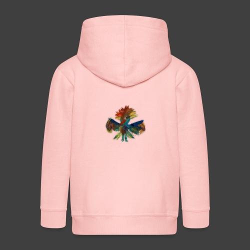 Mayas bird - Kids' Premium Hooded Jacket