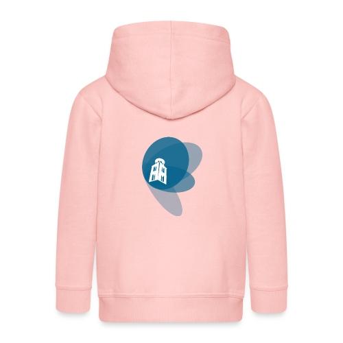 Maglietta a manica lunga - Felpa con zip Premium per bambini