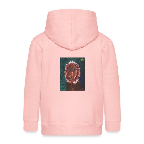 Lion T-Shirt By Isla - Kids' Premium Zip Hoodie