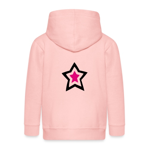 lucky star - Kinder Premium Kapuzenjacke