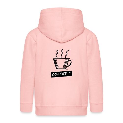 Kaffee ? - Kinder Premium Kapuzenjacke