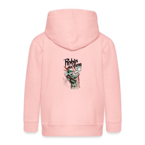 Robin des Bras - Kids' Premium Zip Hoodie
