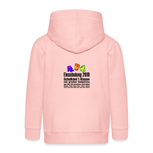 Einschulung Jahr 2019 - Kinder Premium Kapuzenjacke