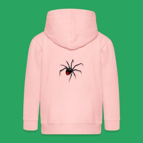 spider logo fantasy - Felpa con zip Premium per bambini