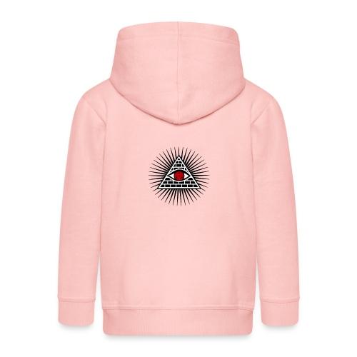 EYES - Rozpinana bluza dziecięca z kapturem Premium
