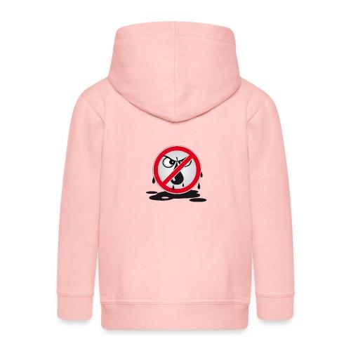 Erdöl Nein danke - Kinder Premium Kapuzenjacke