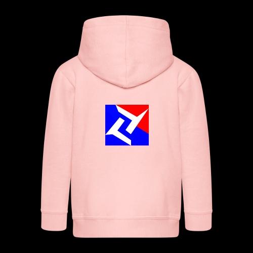 SVN Shirt logo e sports jpg - Kinderen Premium jas met capuchon