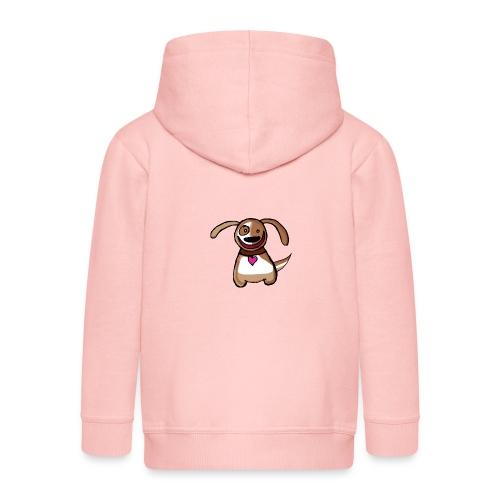Titou le chien - Veste à capuche Premium Enfant