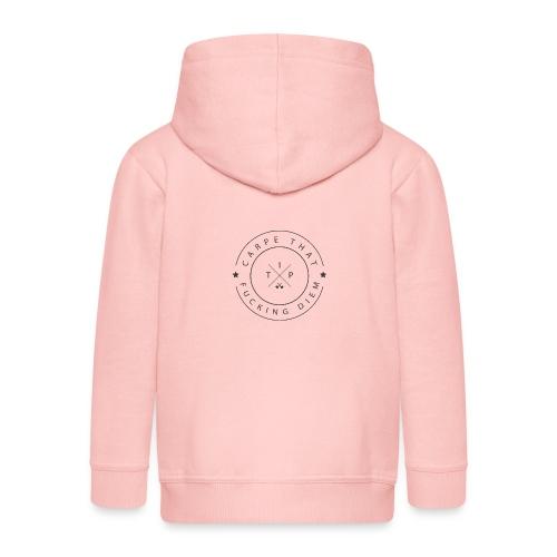 Carpe that f*cking diem - Kids' Premium Hooded Jacket