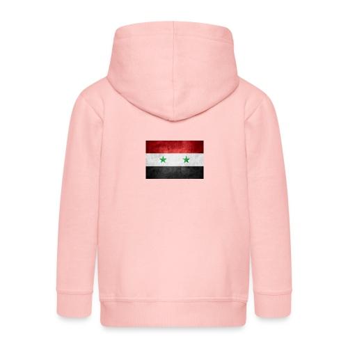 Syrien - Kinder Premium Kapuzenjacke