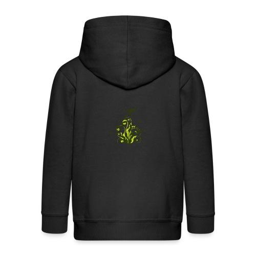 Flora - Chaqueta con capucha premium niño