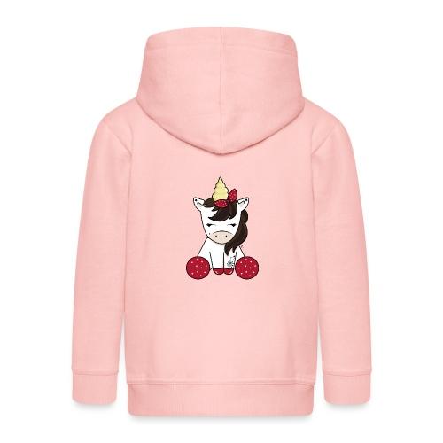 Licorne rockabilly - Veste à capuche Premium Enfant