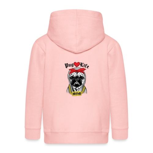 Pug Life - Kids' Premium Zip Hoodie