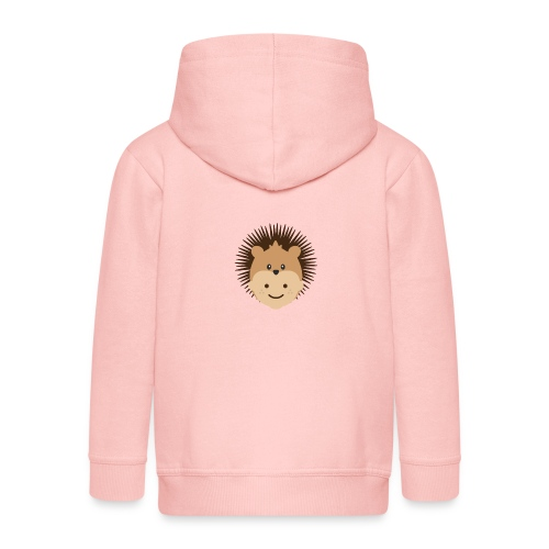 Fin the Hedgehog | Ibbleobble - Kids' Premium Zip Hoodie