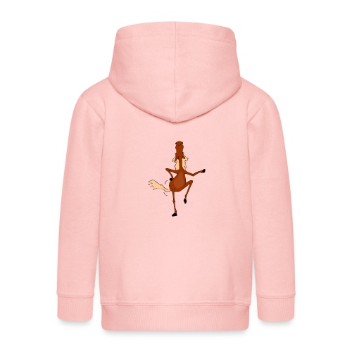 Tanzpferd - Kinder Premium Kapuzenjacke