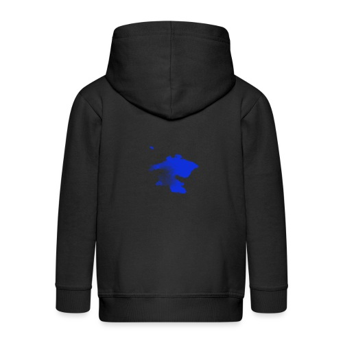 ink splatter - Kids' Premium Zip Hoodie