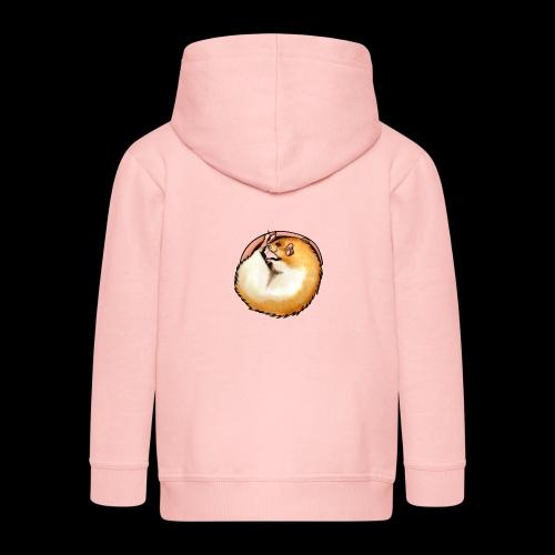 Hooded Rat - silver fawn - Kids' Premium Zip Hoodie