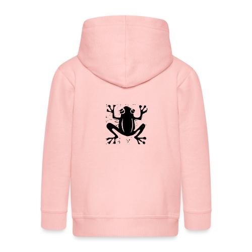 Crafty Wotnots Tree Frog - Kids' Premium Zip Hoodie