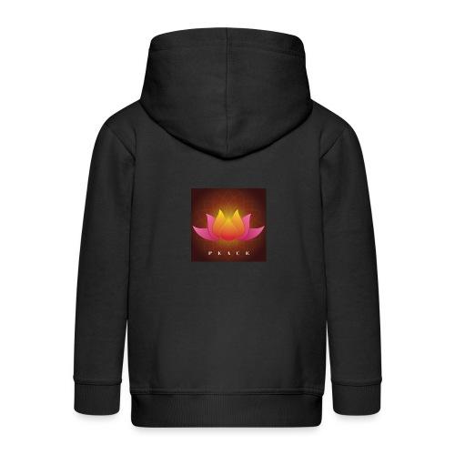 Peace Lotus - Kids' Premium Zip Hoodie