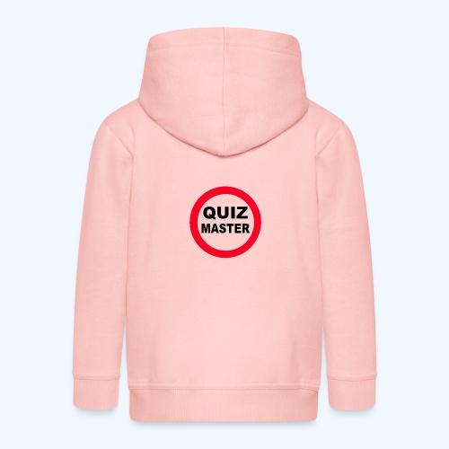 Quiz Master Stop Sign - Kids' Premium Zip Hoodie