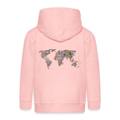 Hipsters' world - Kids' Premium Zip Hoodie