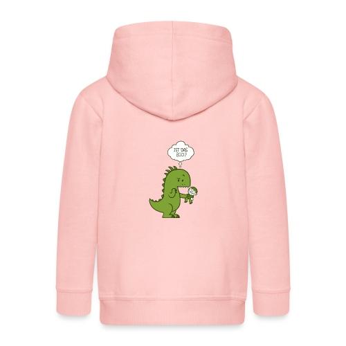 Bio-Dinosaurier - Kinder Premium Kapuzenjacke