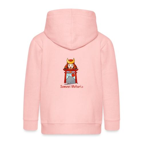Samurai Matsuri Torii - Kinder Premium Kapuzenjacke