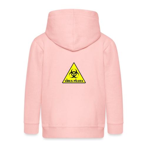 viruspelote png - Veste à capuche Premium Enfant