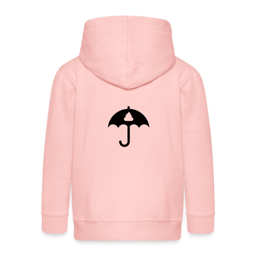 Shit icon Black png - Kids' Premium Zip Hoodie