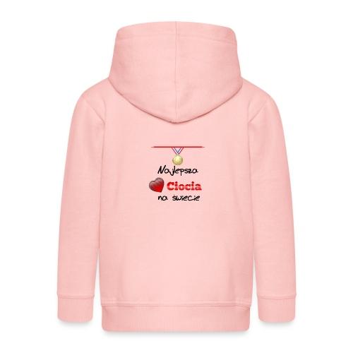 nadruk_rodzinne_05 - Rozpinana bluza dziecięca z kapturem Premium