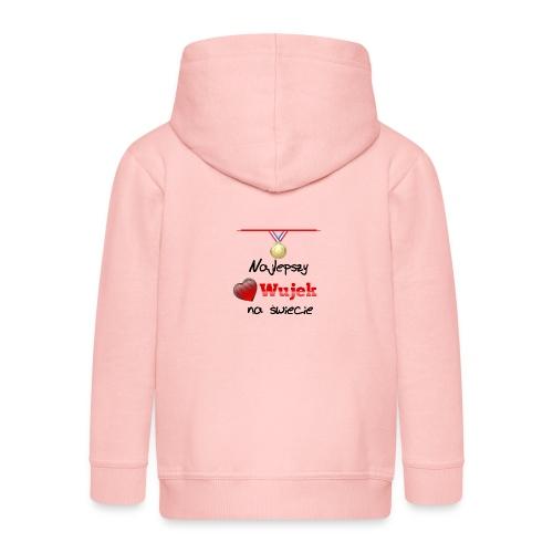 nadruk_rodzinne_03 - Rozpinana bluza dziecięca z kapturem Premium